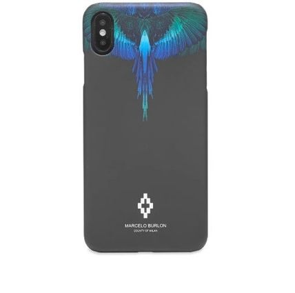 Marcelo Burlon スマホケース・テックアクセサリー NEW▼Marcelo Burlon▼Blue Wing iPhoneX/X MAXケース(9)