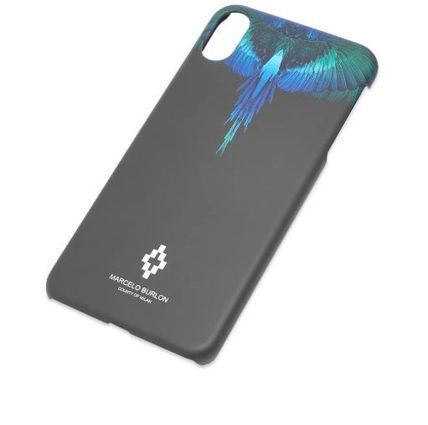 Marcelo Burlon スマホケース・テックアクセサリー NEW▼Marcelo Burlon▼Blue Wing iPhoneX/X MAXケース(10)
