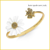 Kate Spade*Gold-Tone Bee & Flower ブレスレット
