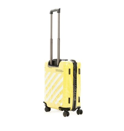 Off-White スーツケース 【関税込】新作◆OFF WHITE ◆QUOTE FOR TRAVEL スーツケース(4)
