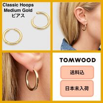 ■日本未入荷・送料込■ Tom Wood Classic Hoops Medium Gold