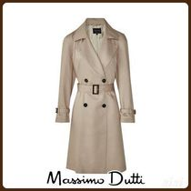 MassimoDutti♪LYOCELL RELAXED TRENCH COAT WITH BELT