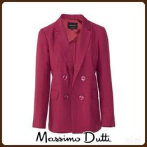 MassimoDutti♪DOUBLE-BREASTED BLAZER WITH DECORATIVE BUTTONS