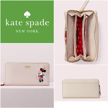 Kate Spade 限定コラボ! ミニーちゃん長財布 minnie mouse lacey