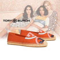 Tory Burch POPPY CANVAS エスパドリーユ orange