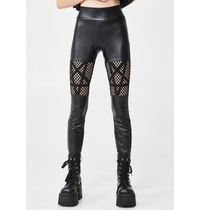 即納★国内発DOLLSKILL(KILL STAR)//WITCHNET CUT OUT LEGGINGS