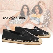 Tory Burch POPPY CANVAS エスパドリーユ black