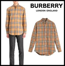 ★関税込/安全発送★BURBERRY★VINTAGE CHECK SHIRTS★