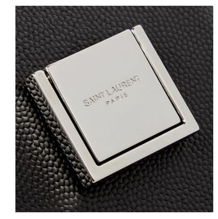 Saint Laurent スマホケース・テックアクセサリー New▼Saint Lauren▼Pebble-Grain Leather iPhoneXS Max ケース(5)