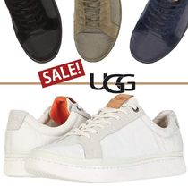 SALE【UGG】Cali Sneaker★ロゴ入りレースアップスニーカー