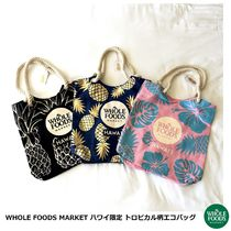[WHOLE FOODS MARKET] ハワイ限定 ORGANIC COTTON ビーチバッグ