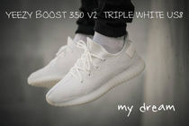 確保済【YEEZY】YEEZY BOOST 350 V2  TRIPLE WHITE(US8)