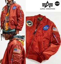 ☆Alpha Industries☆MA-1 NASA Slim Fit (Orange Rust)