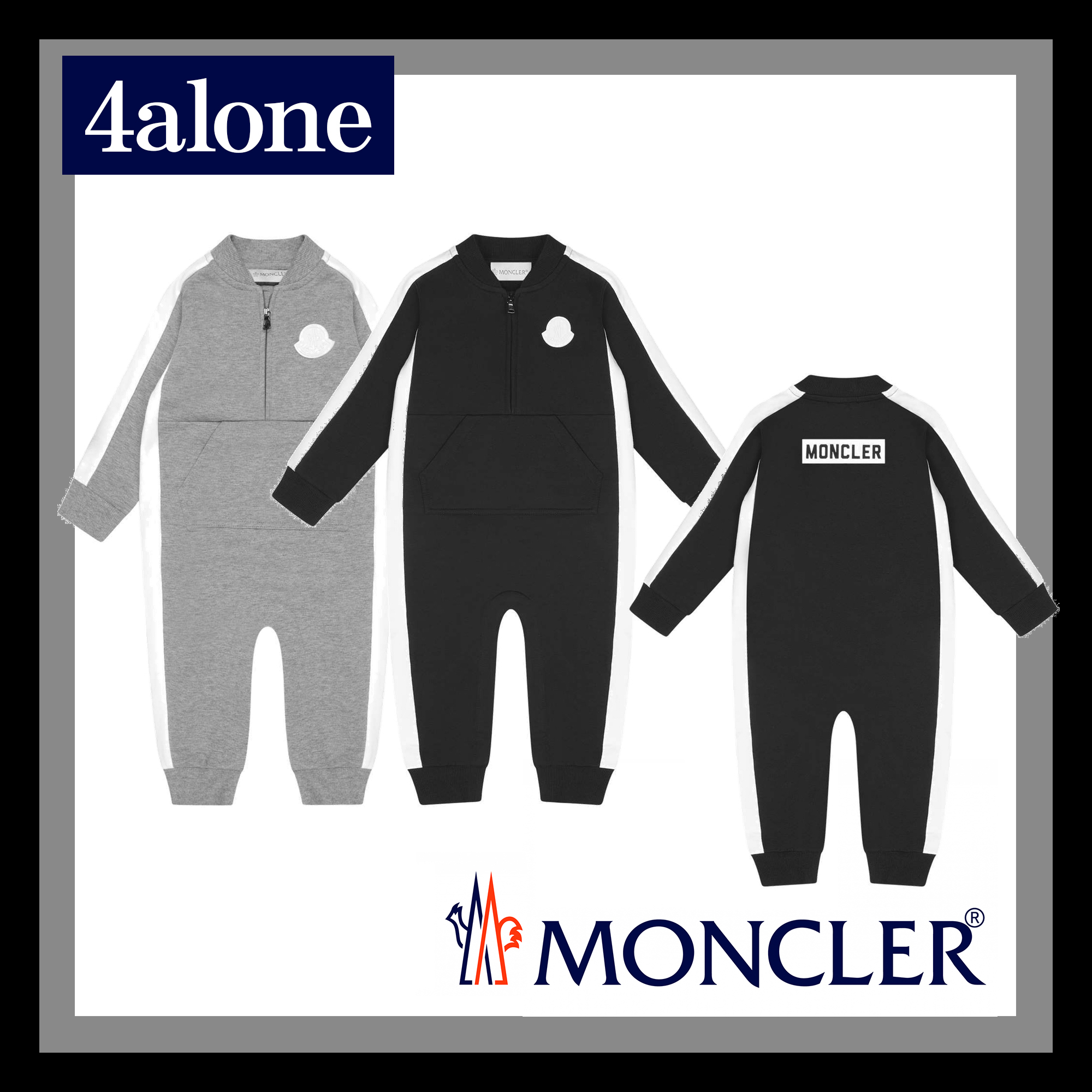 MONCLER 2019-20AW Street Style Baby Girl Dresses & Rompers