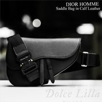 DIOR HOMME Saddle Bag in Calf Leather