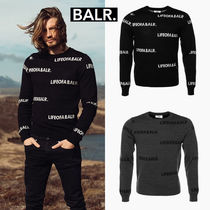 BALR. ALL-OVER LIFE OF A BALR クルーネックセーター