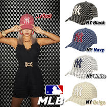 ★MLB★NEW YORK YANKEES MONOGRAM CURVE CONTROL CAP(全5色)