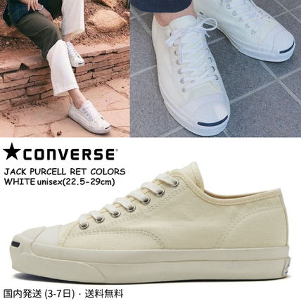 CONVERSE スニーカー レトロ感!! 国内送★ Converse JACK PURCELL RET COLORS★ 白