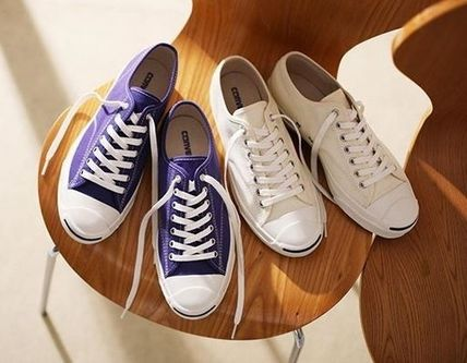 CONVERSE スニーカー レトロ感!! 国内送★ Converse JACK PURCELL RET COLORS★ 白(6)