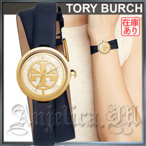 ★人気の二重巻レザー★TORY BURCH REVA WATCH LADIES WATCH