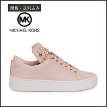 【Michael Kors】 MINDY Star Tongue レースアップ スニーカー