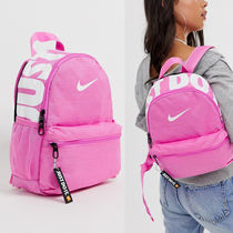 Nike pink just do it ミニバックパック