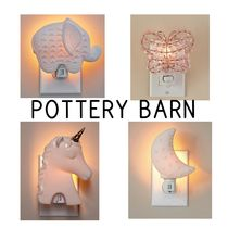 【Pottery Barn】Ceramic Nightlight ナイトライト