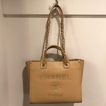 2019 C H A N E L ★再入荷のDeauville SMALL 33 IN BEIGE