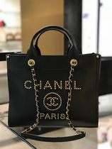 2019 C H A N E L ★再入荷のDeauville SMALL 33 IN BLK