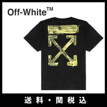 ■Off-white 新作■ARROWS OVER BLACKTシャツ