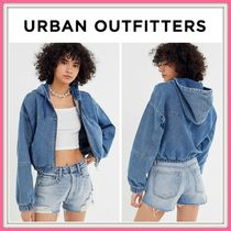 Urban Outfitters(アーバンアウトフィッターズ) ジャケット NEW!! 19-20AW!! 【UO】 BDG Denim Hooded Cropped Jacket