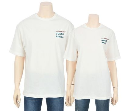 Guess Tシャツ・カットソー ☆韓国の人気☆【GUESS】☆登板 LETTERING 半袖 Tシャツ☆2色☆(5)