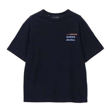 Guess Tシャツ・カットソー ☆韓国の人気☆【GUESS】☆登板 LETTERING 半袖 Tシャツ☆2色☆(12)