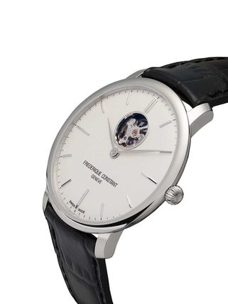 FREDERIQUE CONSTANT スーツ 関税込◆Slimline Heart Beat Automatic 40mm(5)