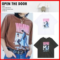 ☆韓国の人気☆【OPEN THE DOOR】☆WHAM 1/2 T☆3色☆