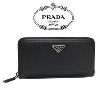 PRADA プラダ長財布 2ML032 SAFFIANO TECH-2B8U F0002 BK(新品)
