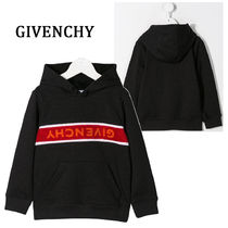 GIVENCHY(ジバンシィ) キッズ用トップス 関税・送料込 GIVENCHY Kids リバースロゴ パーカー H25133A99