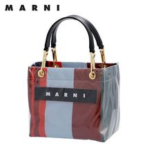 19AW ☆MARNI☆ GLOSSY GRIP Shopper トートS LACQUER♪