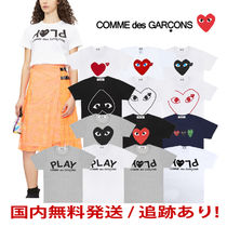 COMME des GARCONS(コムデギャルソン) Tシャツ・カットソー [即発]COMME des GARCONS レディース ハートプリント カットソー