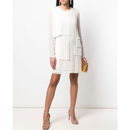 Stella McCartney ワンピース 【STELLA McCARTNEY】Fringed Shift Dress フリンジ ワンピース(3)