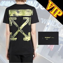 Off-White     ペイント Arrows  ロゴ T-SHIRT