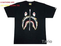 送料込 【A BATHING APE】 1ST CAMO SHARK TEE エイプ Tシャツ M