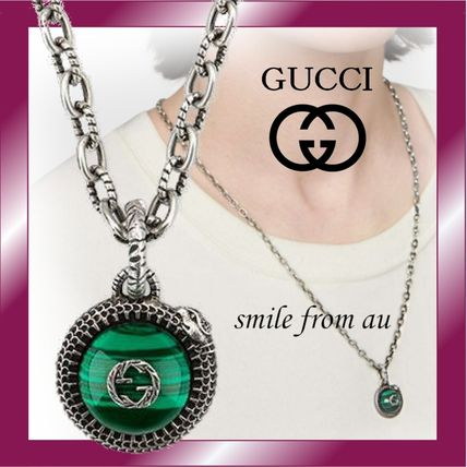 ★Gucci★Gucci Garden silver necklace★シルバーネックレス★
