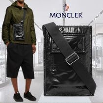 **Moncler**モンクレール★Glossed-Nylon Messenger Bag