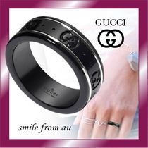 Gucci★Icon thin band in white gold☆アイコンリング★7㎜