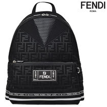 BLACK TECH FABRIC BACKPACK