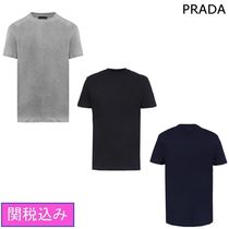 PRADA 3  PACK IN COTTON JERSEY Tシャツ