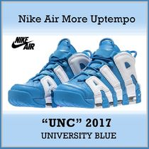 Nike Air More Uptempo 96 University Blue UNC AW 17 2017