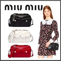 【MiuMiu】日本未入荷★ SOFT CALF BANDOLEER BAG