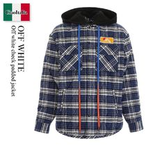 OFF WHITE Check Padded Jacket